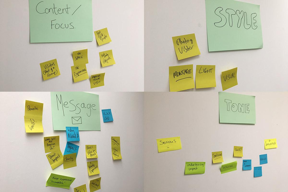Design workshop themes