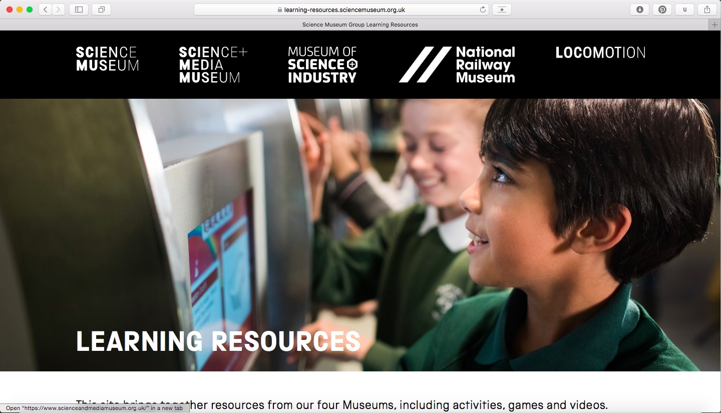 Learning Resources website screenshot